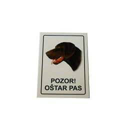 PLOČICA OŠTAR PAS