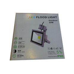LED REFLEKTOR SA SENZOROM 30W IP65 &